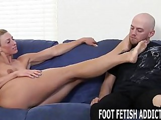 Foot Licking and Femdom Foot..