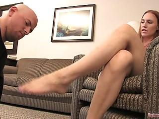 Hard Foot Slapping and Foot..