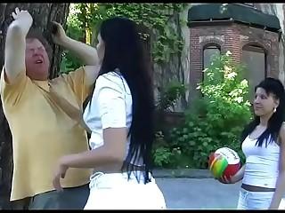 2 Amateur Girls in Femdom..