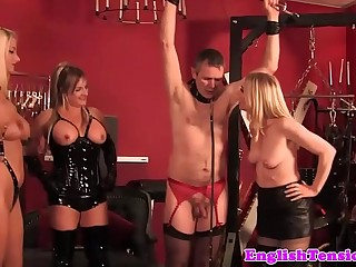 Flogging british femdoms in..